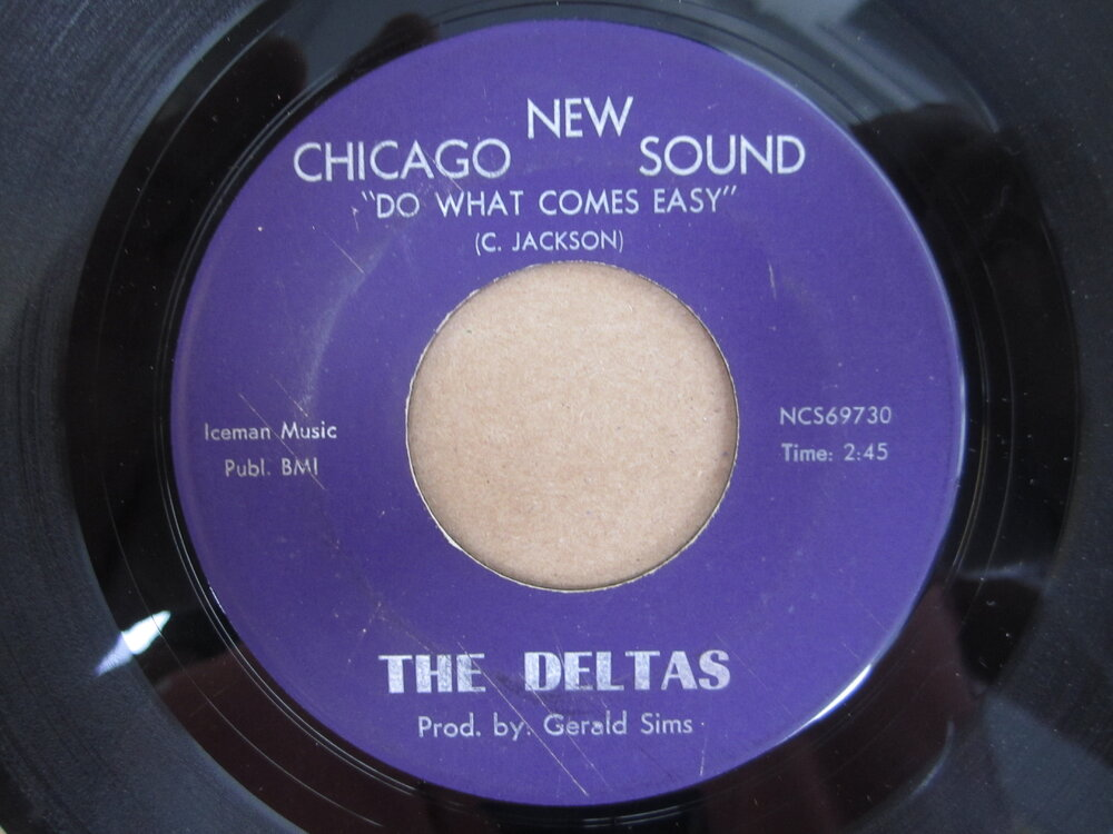 soul Deltas   do what comes easy NEW CHICAGO SOUND