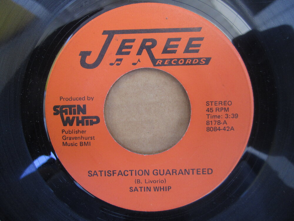 soul Satin Whip   satisfaction guaranteed JEREE