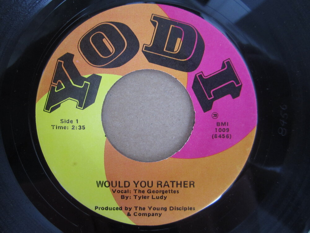 soul Georgettes   would you rather YODI