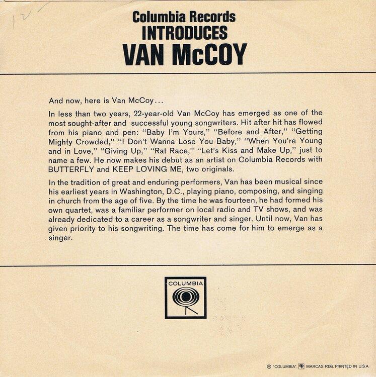 soul van mccoy columbia introduces promo slv b