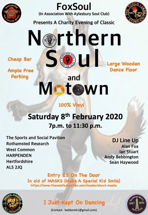 soul Rothamsted Event 8 Feb 2020