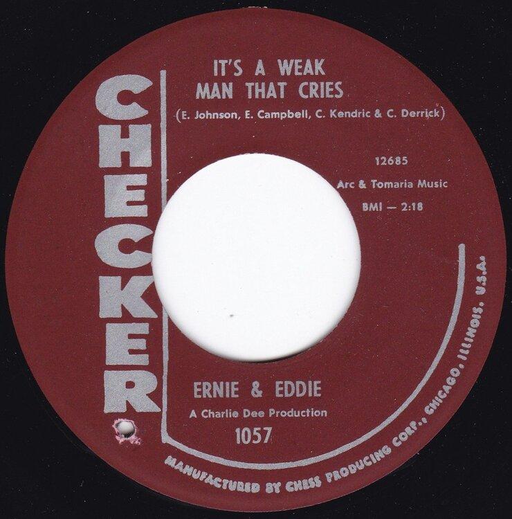 soul Ernie & Eddie   It's A Weak Man That Cries