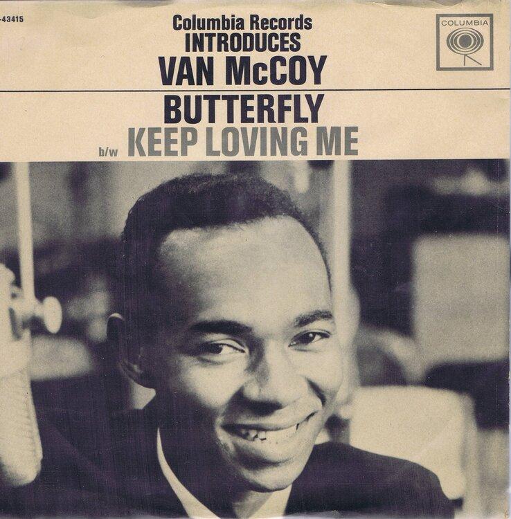 soul van mccoy butterfly promo slv collumbia 43415