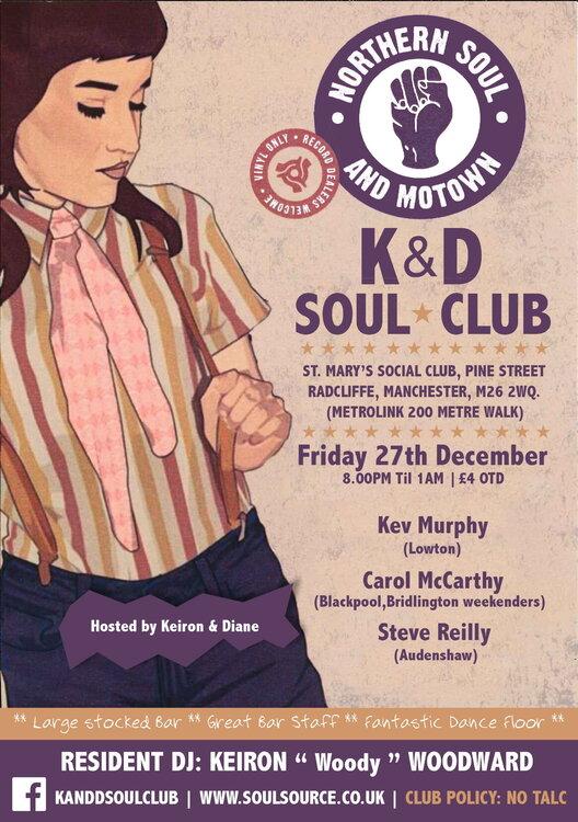 soul K&D's.DECEMBER19