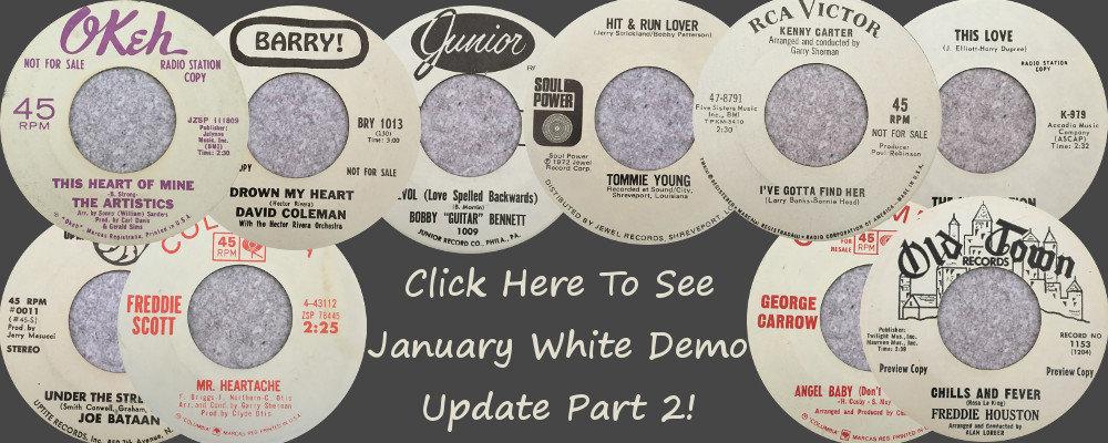 soul White Demo Update part 2 Jan
