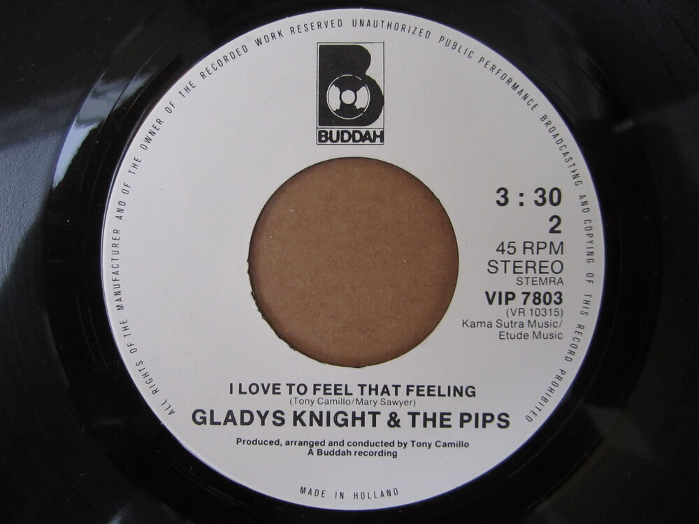 soul Gladys Knight & the Pips   i love to feel that feeling BUDDAH