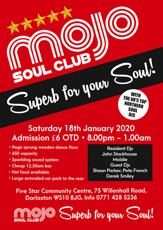 soul Mojo Club Front 18 Jan  2020