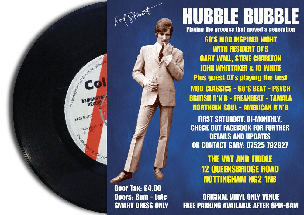 soul Hubble Bubble VAT & FIDDLE PF
