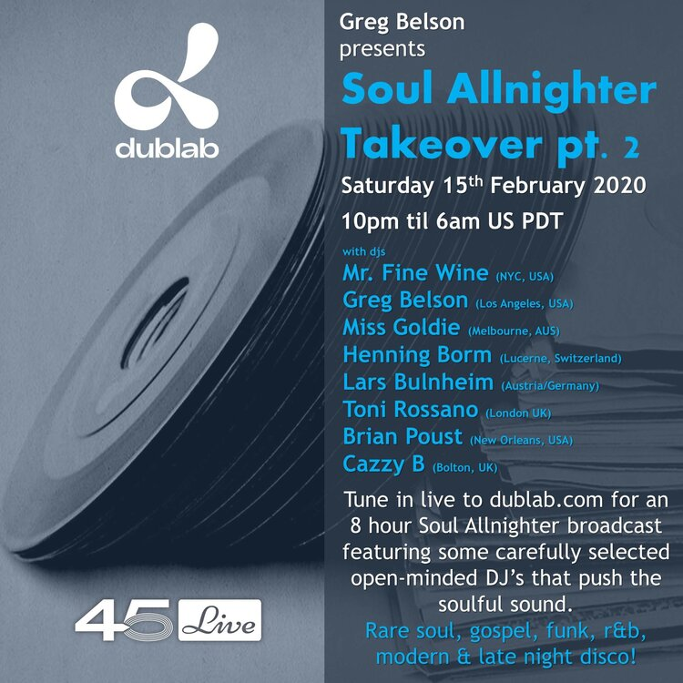 soul Soul Allnighter Takeover   Dublab   pt 2