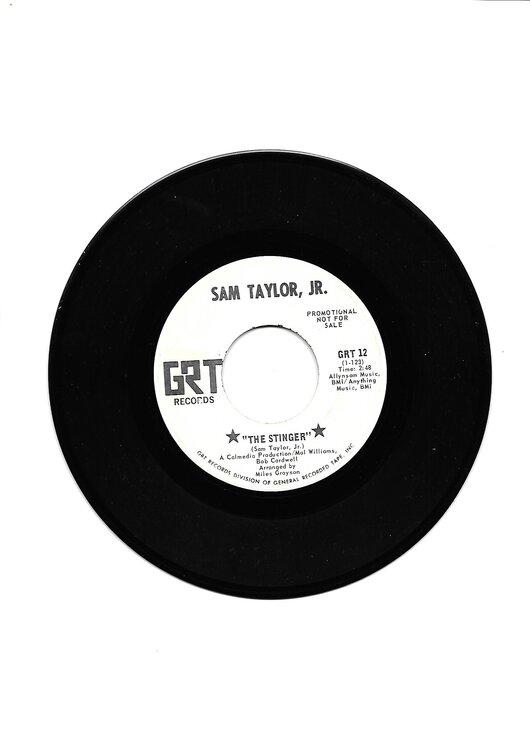 soul Sam Taylor Jr (Stinger)