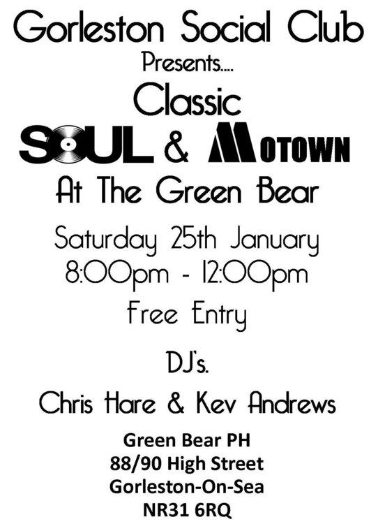 soul Green Bear Jan 2020