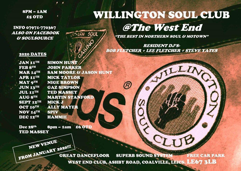 soul WILLINGTON WEST END 2020