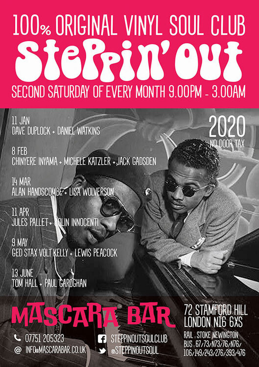 soul web versions Steppin Out Programme 2020 spring summer 72dpi