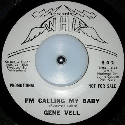 soul Gene Vell   I'm calling my baby