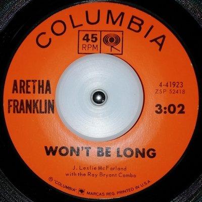 soul Aretha Franklin   Won`t be long