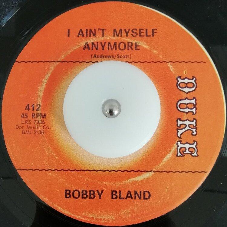 soul Bobby Bland   I ain´´t myself anymore