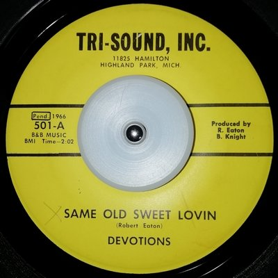 soul Devotions   Same old sweet lovin, light warp