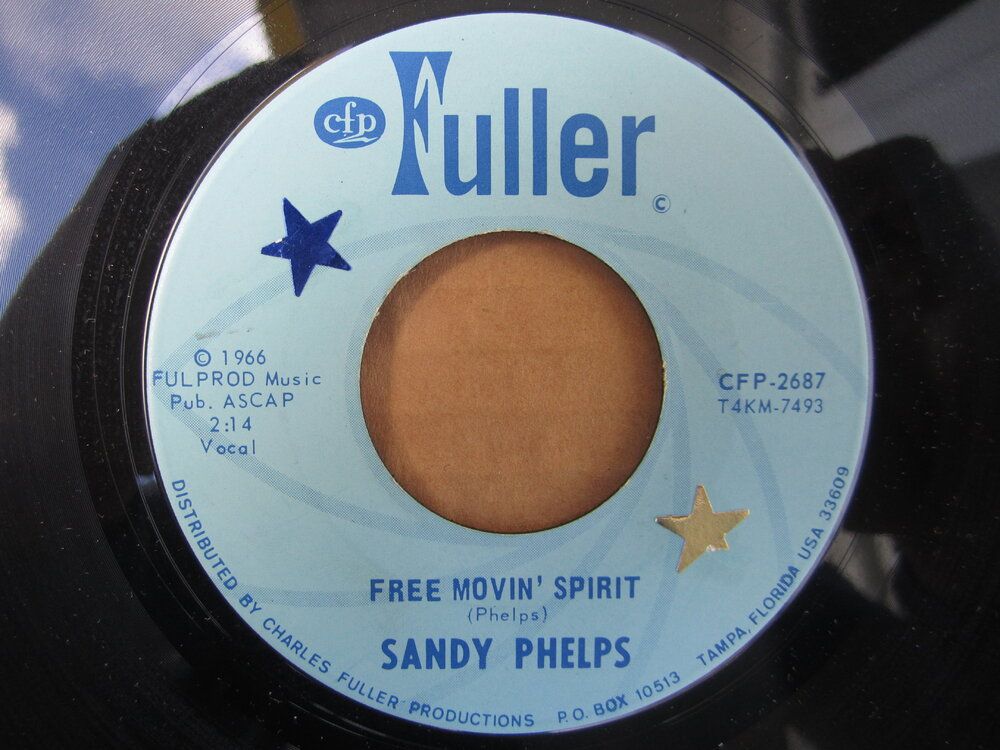 soul Sandy Phelps   free movin' spirit FULLER