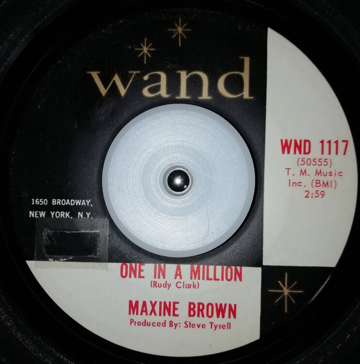 soul Maxine Brown   One in a million