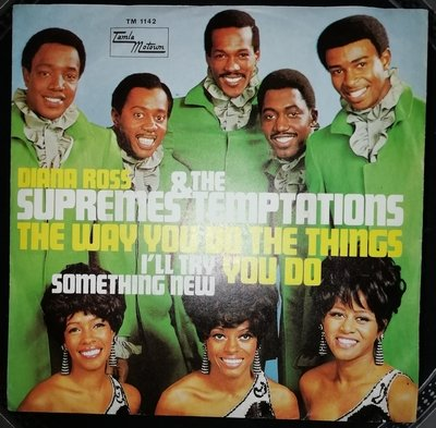 soul Supremes & Temptations   The way you do the thing you do, German
