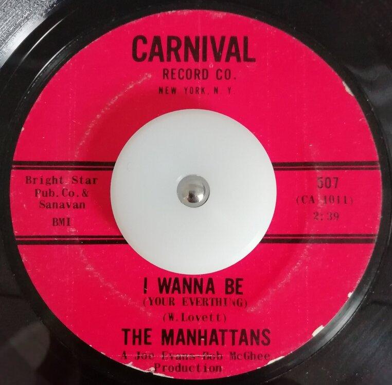 soul Manhattans   I wanna be_