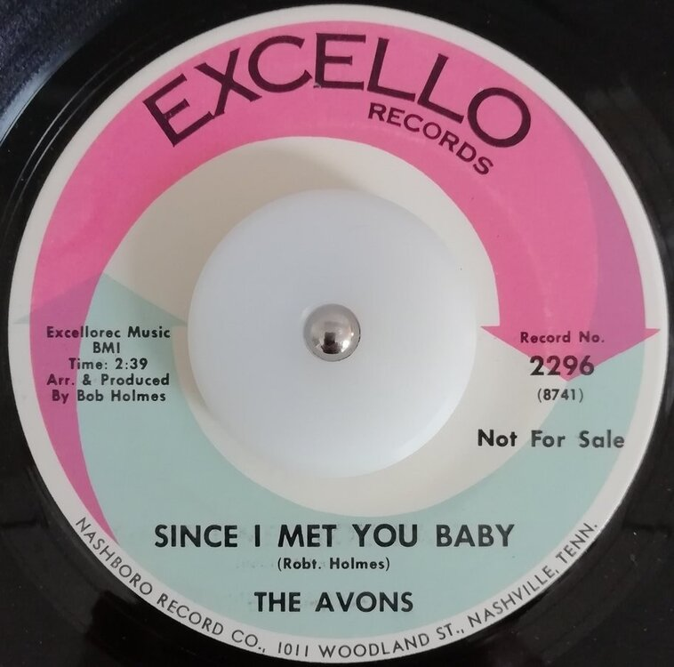soul Avons   Since i met you baby