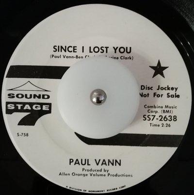 soul Paul Vann   Since i lost you