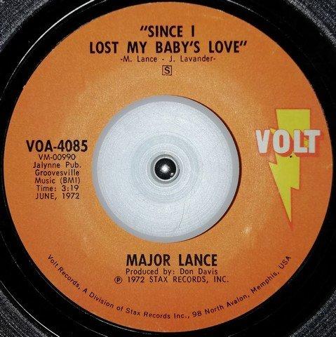 soul Major Lance   Since i lost my babys love