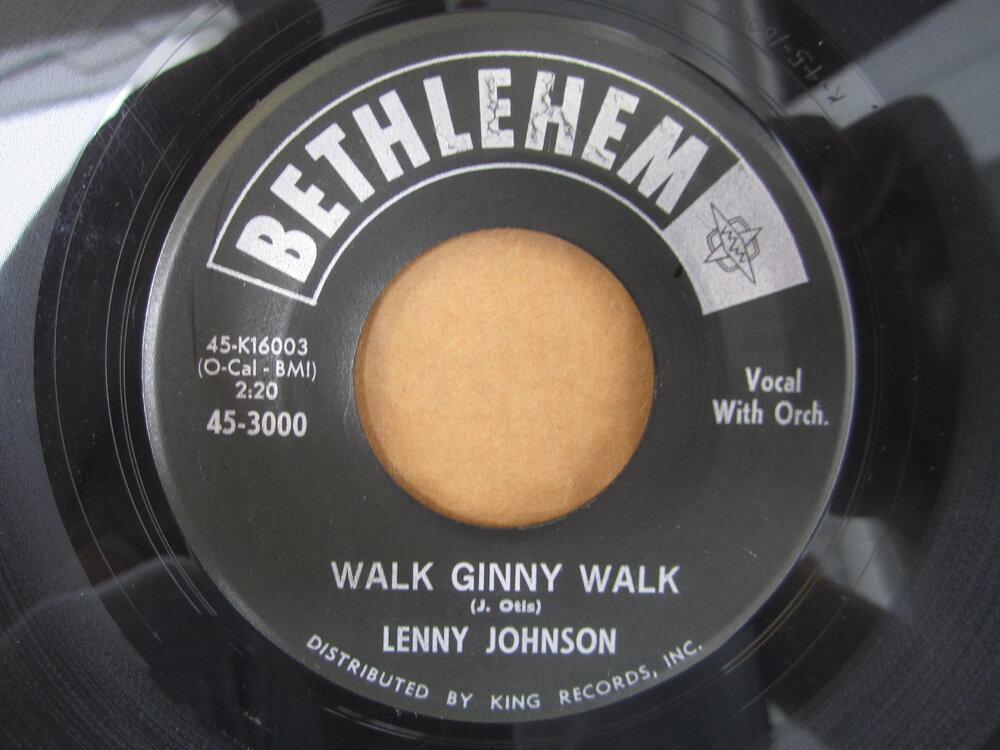 soul Lenny Johnson   walk ginny walk