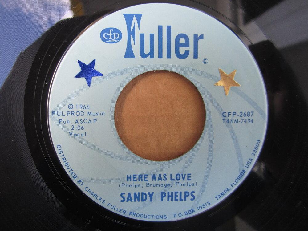soul Sandy Phelps   here was love FULLER