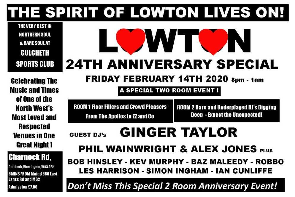 soul Lowton 2020