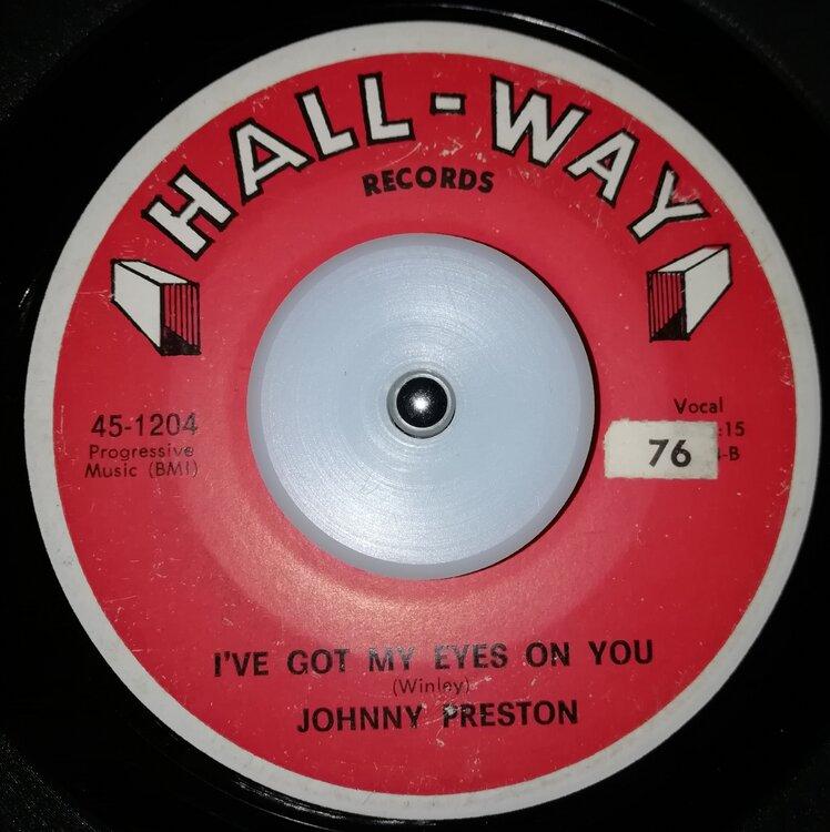 soul Johnny Preston   I've got my eyes on you