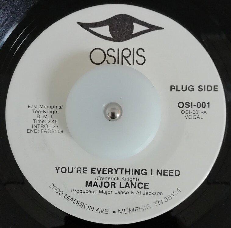 soul Major Lance   You´re everything i need