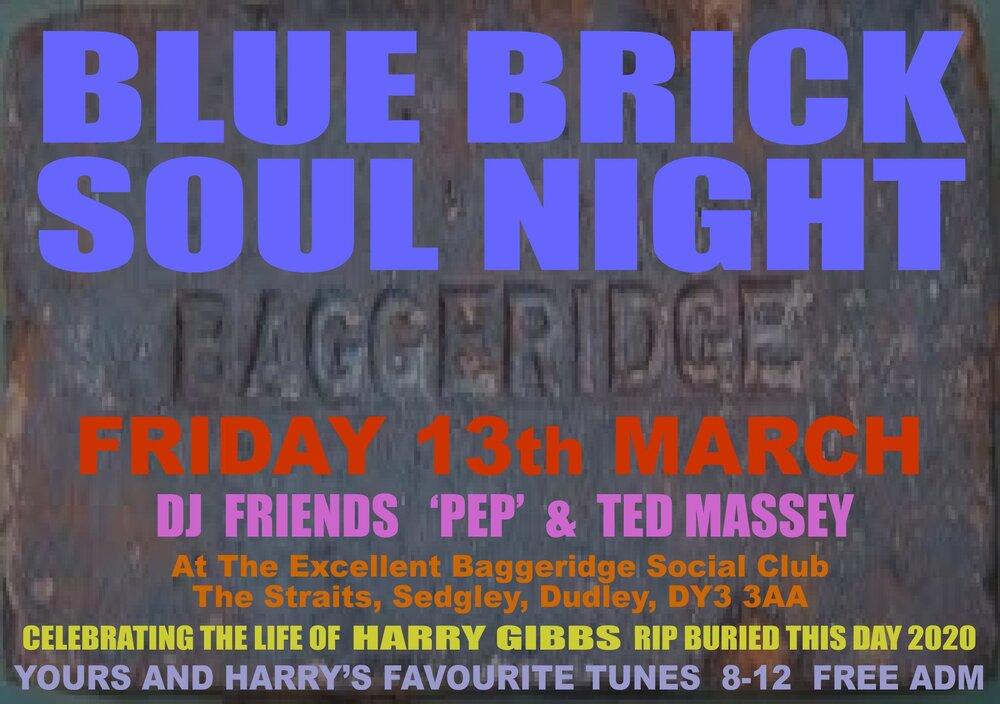 soul Baggeridge Soul Night   2020 03 Harry RIP