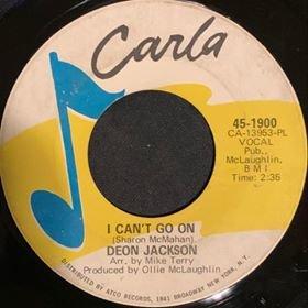 soul I Cant Go On DJ