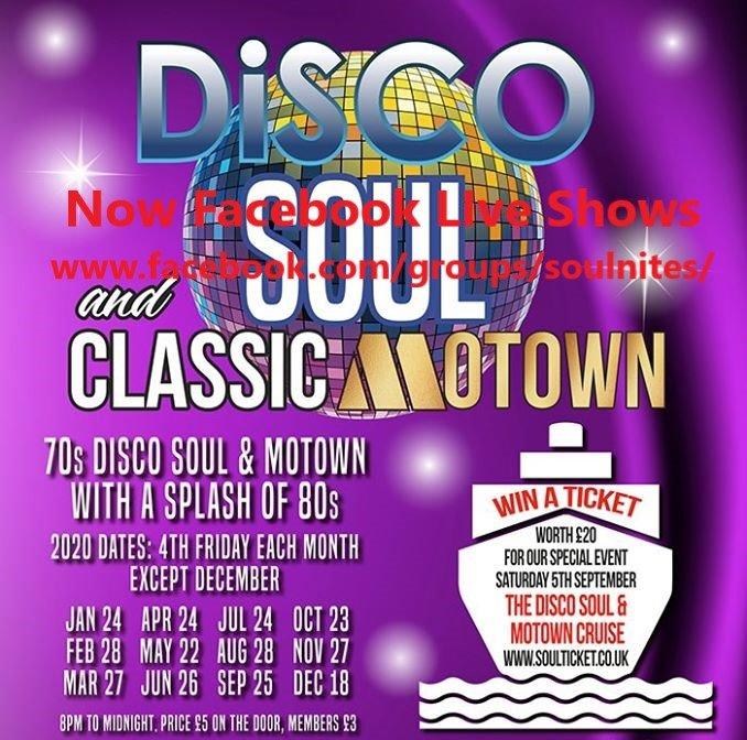 soul Disco Soul Live Facebook Shows