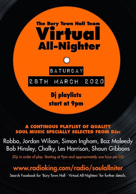 soul Virtual All Nighter 2020 03 28