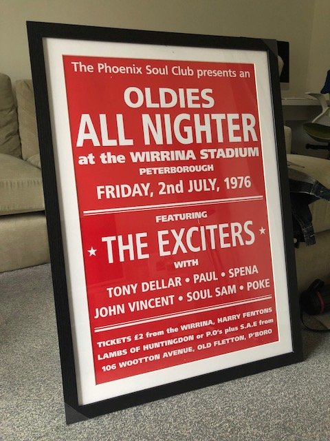 soul wirrina poster the exciters