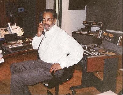 soul Tony May in studio