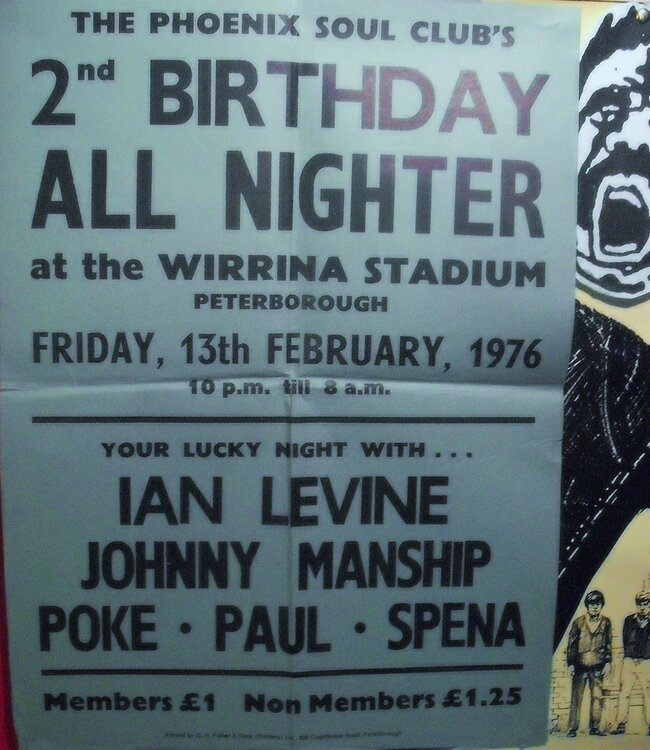 soul WIRRINA POSTER 1976