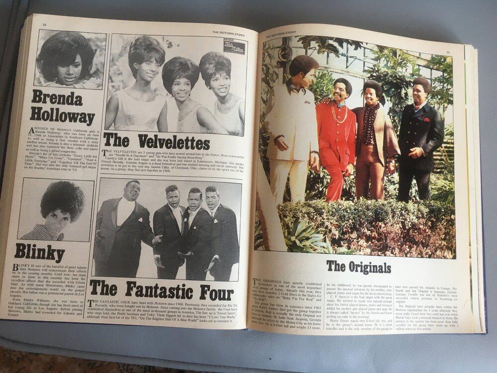 soul Motown Story 1970