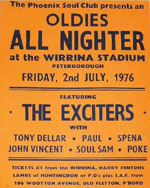soul Exciters 02 07 1976