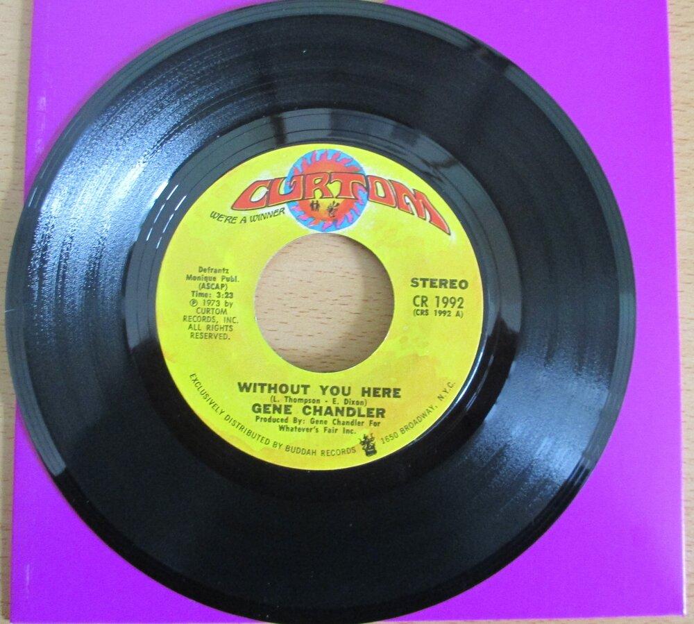 Gene Chandler -  £75.JPG