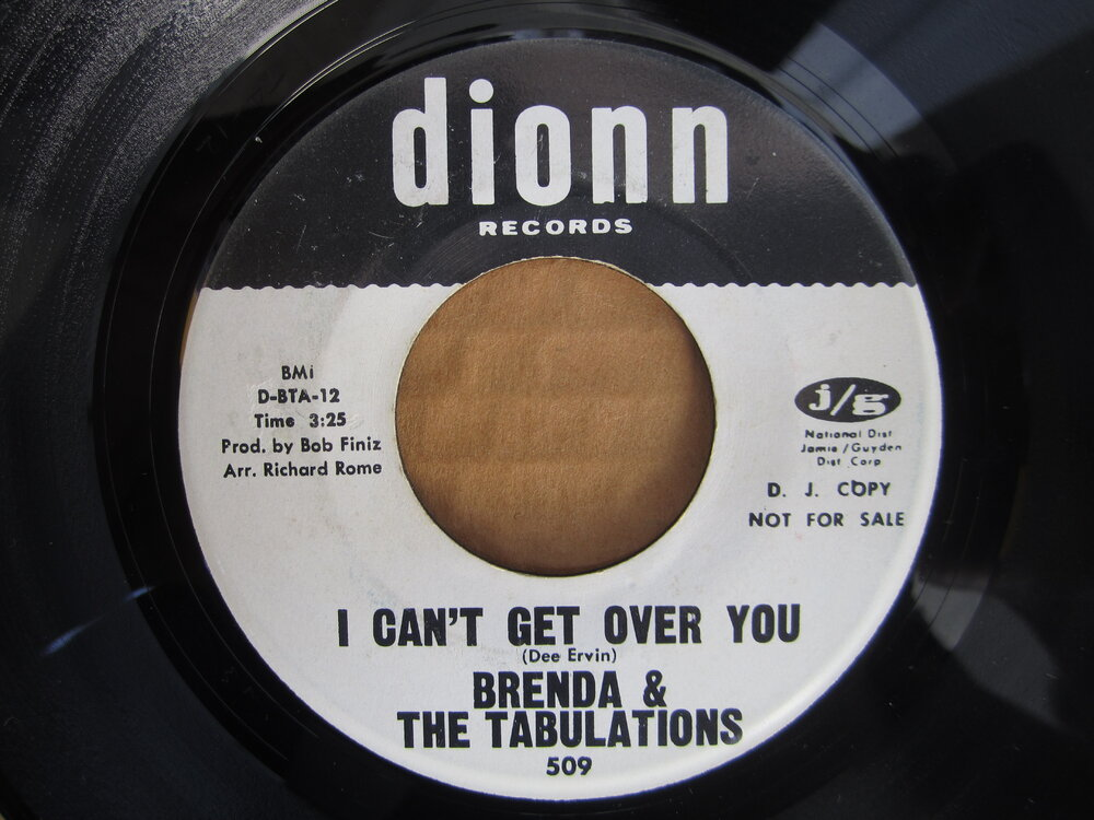 Brenda & the Tabulations - i can't get over you  DIONN.JPG