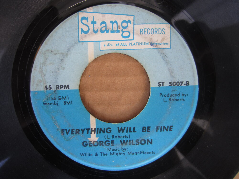 George Wilson - everything will be fine STANG.JPG