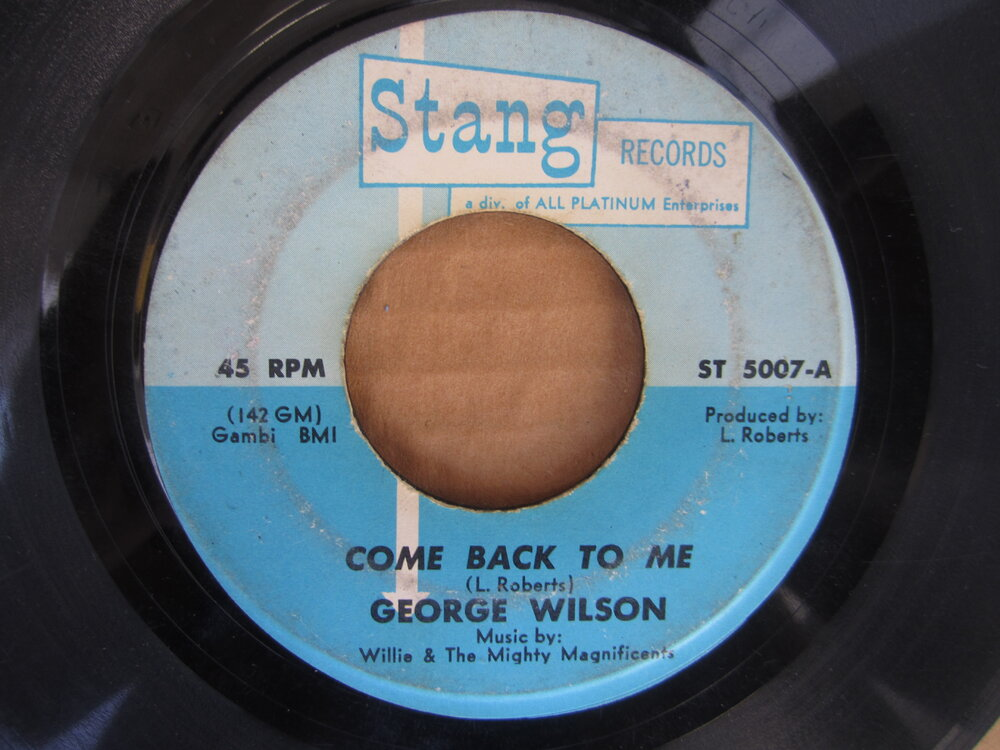 George Wilson - come back to me STANG.JPG