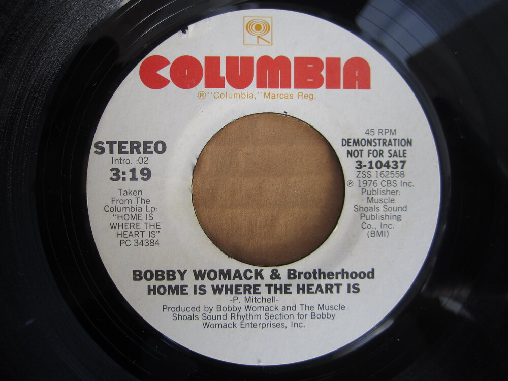 Bobby Womack - home is where the heart is  COLUMBIA.JPG