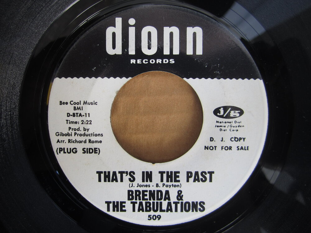 Brenda & the Tabulations - that's in the past DIONN.JPG