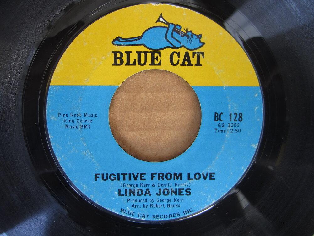 Linda Jones - fugitive from love BLUE CAT.JPG