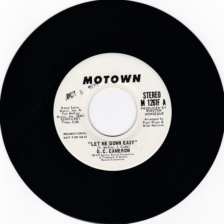 G C Cameron  - Let Me Down - £10.jpg